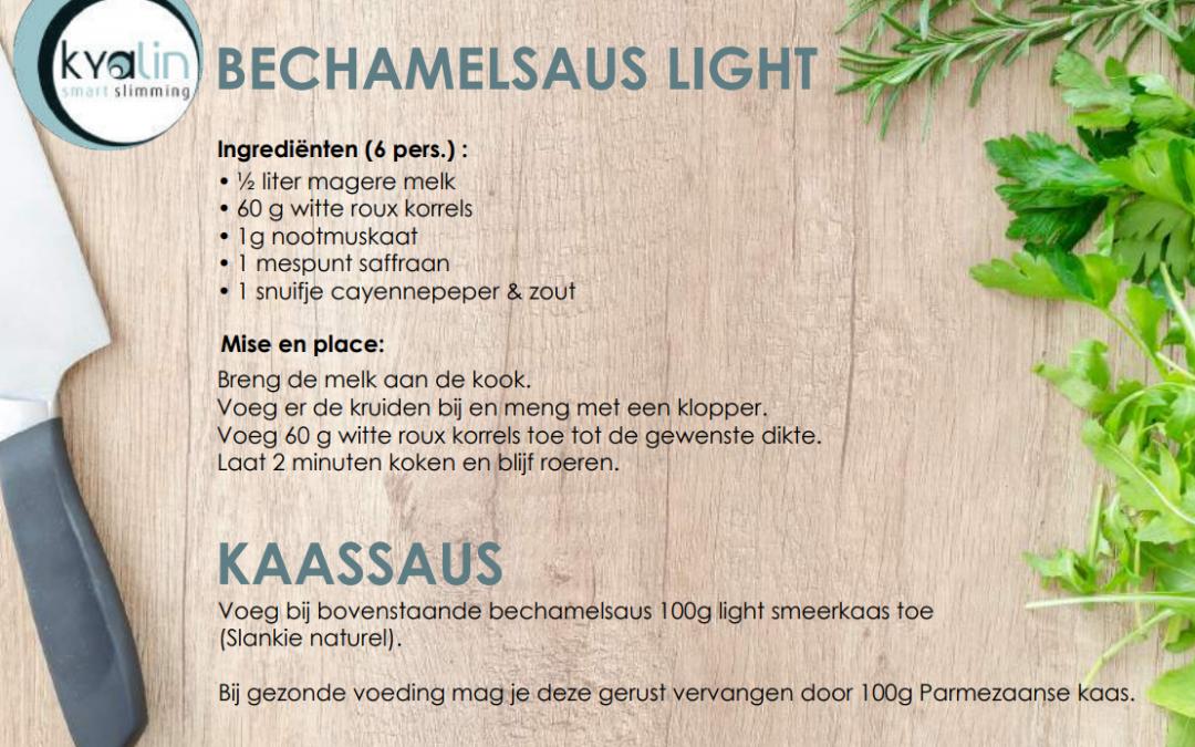 Bechamelsaus light